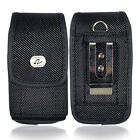 Large Vertical Heavy Duty Nylon Pouch for iPhone - work w/ BALLISTIC Case