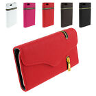 "Hot Magnetic Leather Zipper Wallet Flip Case Cover For iPhone 6 4.7"" 6 Plus 5.5"""