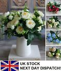 Realistic Artificial Fake Flower Bouquet Bunch Wedding Hydrangea Home Decoration
