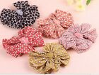 US Silky Ribbon Butterfly Bow Tie Sweet Korean Fashion Girls Hair Pin Clip Cute
