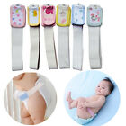 Reusable Belly Band Wrap Cotton Baby Infant Diaper Fixed Belt Elastic 2 Size