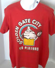 GAP Men's Red Golden Gate City Short Sleeve Tee Shirt NWT Size L