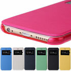 Flip Leather Wallet View Window Case Cover Skin For Apple iPhone 5s 6 / 6 Plus