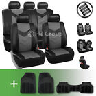 Synthetic Leather Car Seat Covers W Floor Mats And Accessories