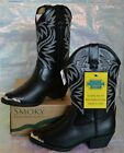 SMOKY MOUNTAIN MESQUITE BLACK 1032C Little Kids Boy's Girl's Western Boots Shoes