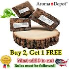 100% Natural Raw African Black Soap BAR, Organic, Unrefined GHANA 4 oz to 1 Lb