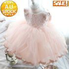 Party Bridesmaid Princess Dress Age2-12 Prom Wedding Christening Formal GIRLS