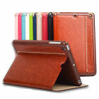KAKU Brand Color Retro Leather Case Slim Cover Auto Sleep For iPad mini 1 2 3 4