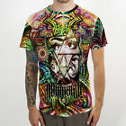 Illuminati DMT DRUG Dark Psychedel Tattoo Cotton with Coolmax T-Shirt