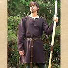 MEDIEVAL Renaissance ALL PERIOD Mens Brown Cotton SHIRT UNDER TUNIC S/M L/XL New