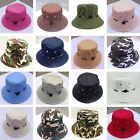 Fashion Women Men Summer Outdoor Bucket Hats Cap Sun Beach Bonnet Beanie