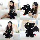 How to Train Your Dragon 2 Toothless Night Fury Stuffed Toy Kids Plush Doll Gift