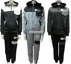 NEW BOYS DELUXE PROJECT HOODED FULL ZIP TOP & PANTS TRACKSUIT 7 TO 13 YEARS