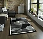 Art Twist Modern Circle Design Machine Made 100% Polypropylene Large Floor Mat