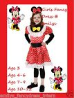 MINNIE MOUSE Look Alike GIRLS Fancy Dress Costume*NEW*