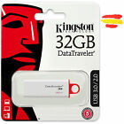 PENDRIVE KINGSTON 32GB MEMORIA USB 3.0 PEN DRIVE 32 ORIGINAL OTG MÓVIL GB Nuevo