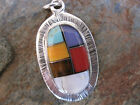 Handmade Stone Pendant Made by Artesanas Campesinas Mexico Fair Trade NEW mp55