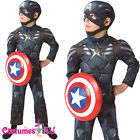Deluxe Captain America Winter Soldiers Avengers Boys Child Licensed Hero Costume