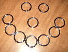 """Stainless Steel O Ring 1""""ID  Leathercraft Equestrian Leads Halters READ DETAILS"""