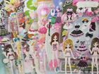 Kid Girls Funny 3D DIY Reusable Toy Doll Dress up Foam Stickers