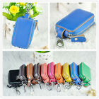Hung on waist Women Men Genuine Leather Key Bag Key holder chain Car Keyring