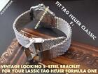 Quality S-steel Bracelet Band Strap To Fit Your Classic Tag Heuer Formula One F1
