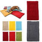 Washable Thick Cage Crate Sherpa Dog Pet Puppy Travel Mat Soft Warm Fleece Mat