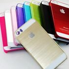 Special Offer For iPhone 5 /5s Frame Luxury Chrome Hard Back New Case Cover