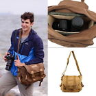 New Retro Casual Canvas Camera Bag Case for All Types of Digital Camera HC