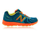 New Balance W690V3 Womens Orange Blue Cushioned Running Sports Shoes Trainers