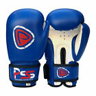 Kids Boxing Gloves Punch Bag Junior MItts Punching Sports Gloves Blue BG-1007