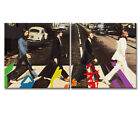 BEATLES Pop ART auf Leinwand Original Abbey Road Canvas Kunst +NEW+