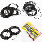 950pcs 0.5 0.6 0.7mm O Ring Rubber Seal Washers Watch Back Gaskets Size 12-30mm