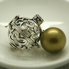 Farah Harmony Cage Bola Ball Pendant Necklace Baby Sterling Silver Pregnancy Mum