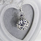 MORGAN Harmony Cage with Bola Ball Pendant Necklace Angel Caller Chime Charm