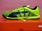 NEW PUMA Neon Lite 2.0 Men's Indoor Soccer Shoes - Yellow/Black; 10323606