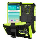 Shock Proof Rugged Armor Heavy Duty Hybrid Hard Case Stand Cover For LG Sony HTC