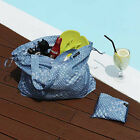 Weekade ISLAND Bag - Packable Fabric Travel Tote Bag / Reusable Shopper eco Bag