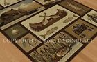 Rustic Rugs Lodge Style Cabin Life Pattern