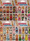 TEMPORARY TATTOO PACKS PRINCESS MONSTER PIRATE ANIMALS KNIGHTS DRAGONS