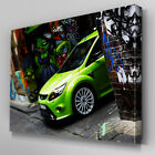 Cars176 Ford Focus Graffiti Wall Canvas Art Ready to Hang Picture Print
