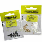 25 Veniard Slotted Tungsten Fly Tying Beads