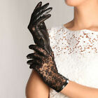 Women's Gothic leather lace lolita sexy gloves New Newly