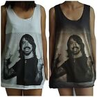 Unisex Dave Grohl Foo Fighters Vest Tank Top Singlet Dress Sleeveless T-Shirt
