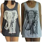 Elephant Vest Tank-Top Singlet (Dress T-Shirt) Sizes S M L XL