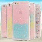 100% Luxury Bling Gliter Shockproof Soft Silicone Case Cover For iPhone 5 5s SE
