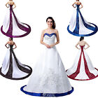 Fairnly Custom New Stock Wedding Dress Bridal Gown Size 6 8 10 12 14 16 18++