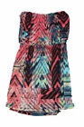 Trixxi Junior's Printed Multicolor Strapless Dress MSRP $44 NWD/NWT - Pick Size