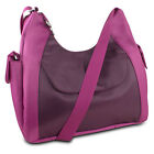 Travelon Oversized Everyday Hobo Style Bag w/ RFID Protection -new everyday ^x