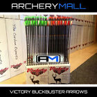12 VICTORY Buck Buster carbon arrows 350 or 400 free cutting &inserts buckbuster $69.99 USD on eBay